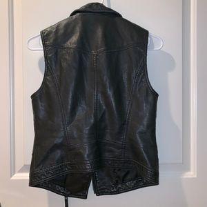 Girl's Leather Vest